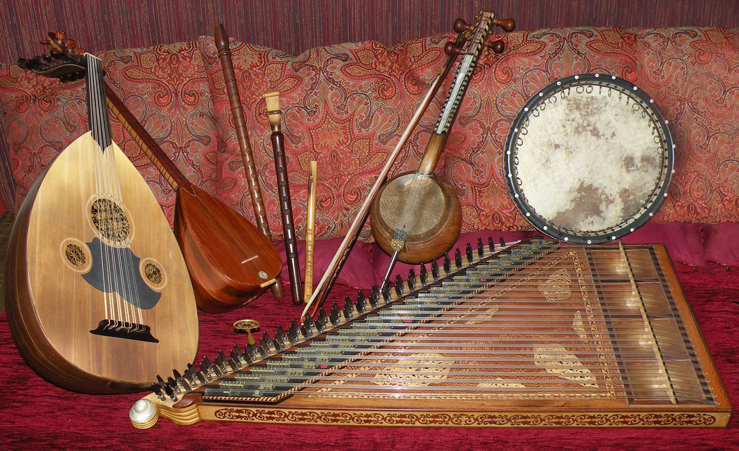 Les instruments traditionnels